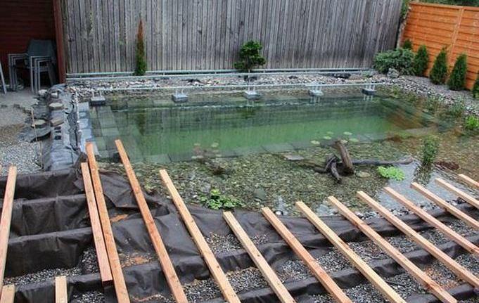 Бассейны и пруды своими руками фото